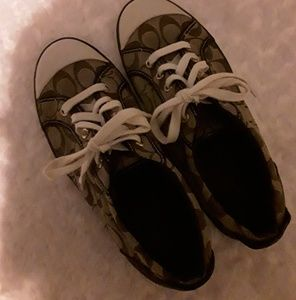 Coach Barrett tennis shoes